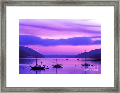 Somes Sound Framed Print by Jim Block