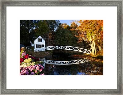 Somesville Bridge Framed Print by Brian Jannsen