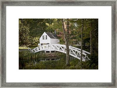 Somesville Bridge Framed Print by Ray Summers Photography