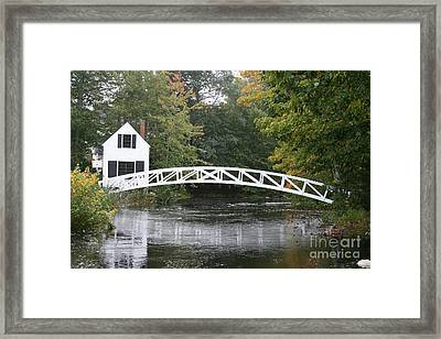 Somesville - Mount Dessert Island Framed Print by Christiane Schulze Art And Photography
