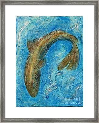 Something Fishy- 1of4 Framed Print