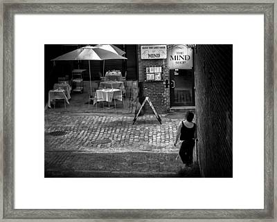 Something For Your Mind Framed Print by Bob Orsillo