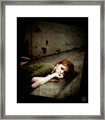 Something Happened On The Way Home Framed Print