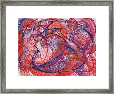 Something Larger Framed Print