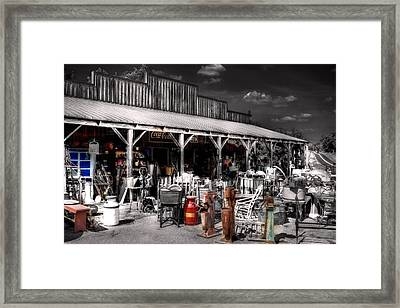 Something Lost Something Found Framed Print