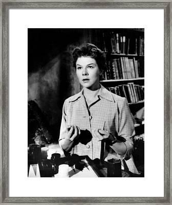 Something Of Value, Wendy Hiller, 1957 Framed Print