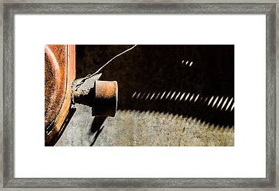Something Old - Abstract Framed Print