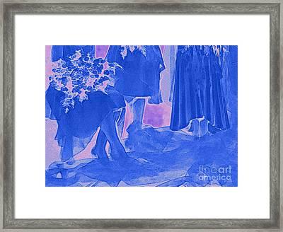 Something Old Something New Something Borrowed Something Blue By Jrr Framed Print