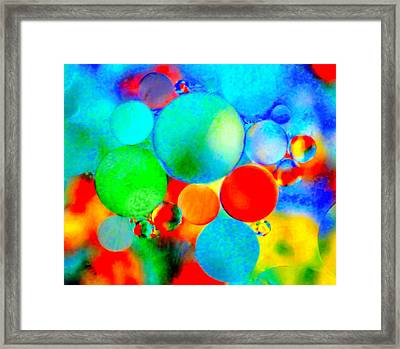 Something Out Of Nothing Framed Print
