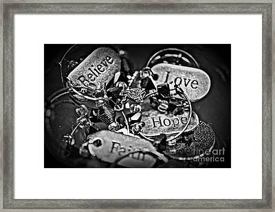 Something To Believe In Framed Print by Christy Phillips