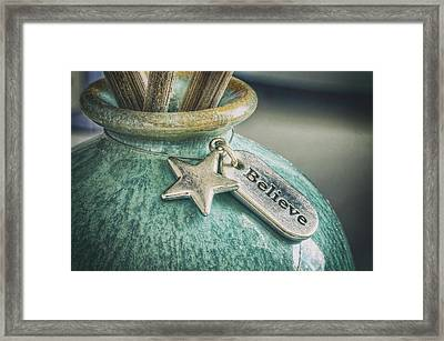 Something To Believe In Framed Print by Scott Norris