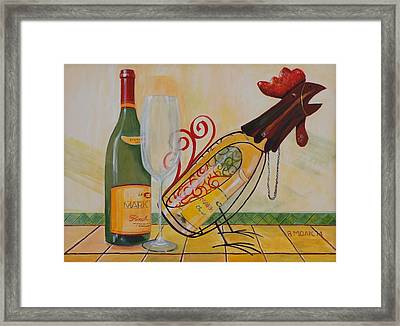 Something To Crow About Framed Print by Barbara Moak
