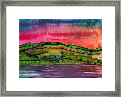Something To Savour Framed Print