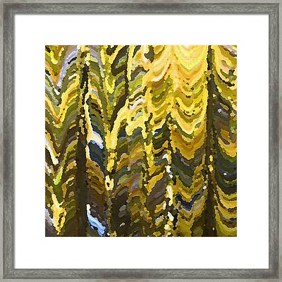 Something To Talk About Framed Print by Cheryl Rau