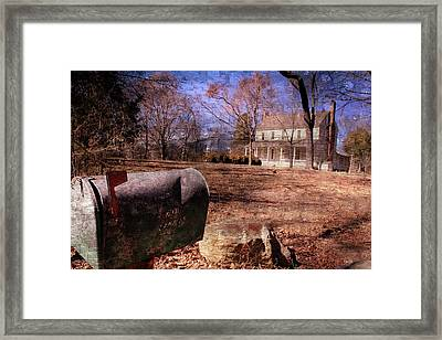 Something To Write Home About Framed Print by Cye Gray