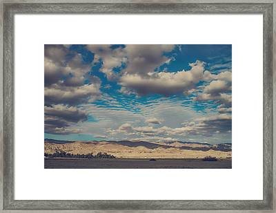 Something Unpredictable Framed Print
