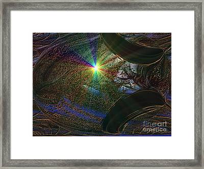 Something Wicked This Way Comes Framed Print