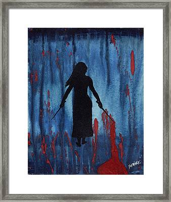 Something Wicked This Way Comes Framed Print by Jim Stark