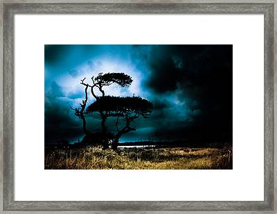 Something Wicked This Way Comes Framed Print by Shane Holsclaw