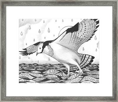 Sometimes A Great Catch Framed Print by Helena Tiainen