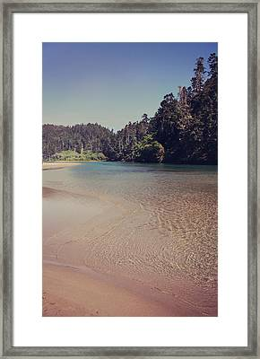 Sometimes It's So Clear Framed Print