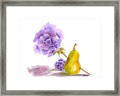 Sometimes Love Hurts Framed Print