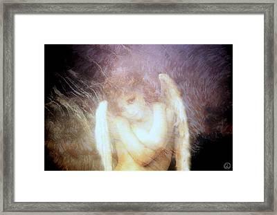 Sometimes The Angels Shiver Framed Print