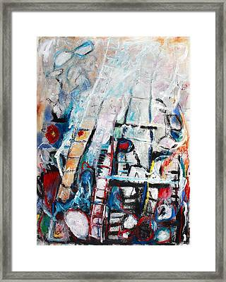 Sometimes The Wind Just Blows So Hard Framed Print