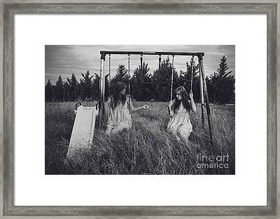 Sometimes You Have To Be Your Own Best Friend Framed Print by Ivy  Taylor