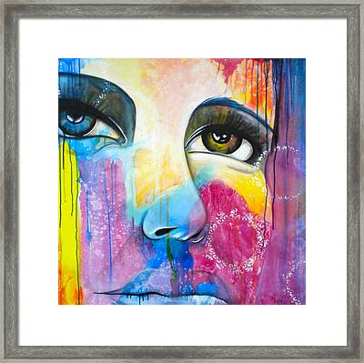 Sometimes You Just Know Framed Print by Debi Starr