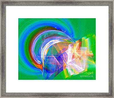 Somewhere 2 Framed Print by Jeanne Liander