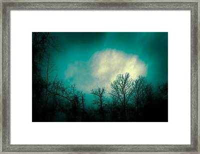Somewhere Between Here And There Framed Print by Bob Orsillo