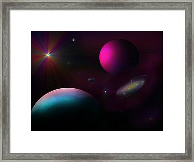 Somewhere Beyond Framed Print by Ricky Haug