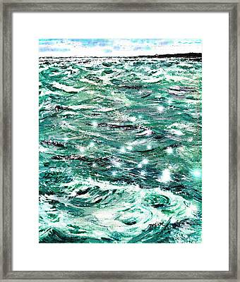 Somewhere Beyond The Sea Framed Print