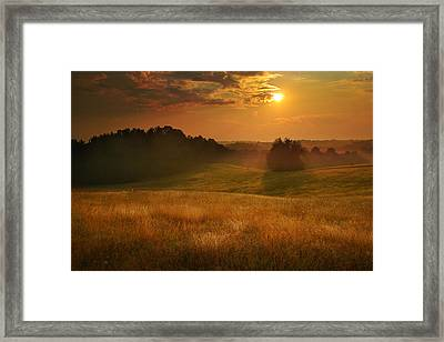 Somewhere In A Dream Framed Print by Rob Blair