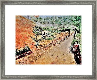 Somewhere In My  Imagination  Framed Print by Rick Todaro