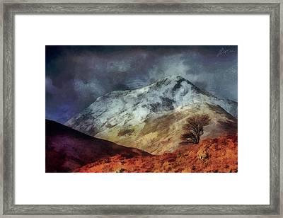 Somewhere In Scotland Framed Print by Marina Likholat