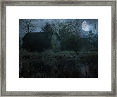 Somewhere Out There Framed Print by Jordan Blackstone