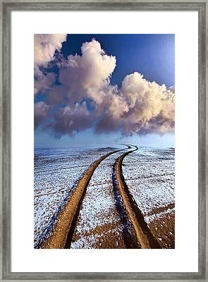 Somewhere Over The Horizon Framed Print
