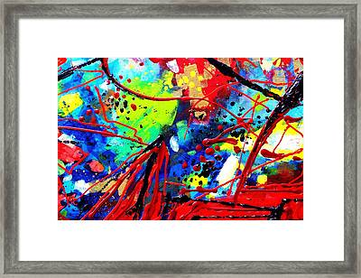 Somewhere Over The Rainbow  II    Cropped Version  Framed Print by John  Nolan