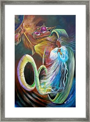 Son Of Eternity Framed Print