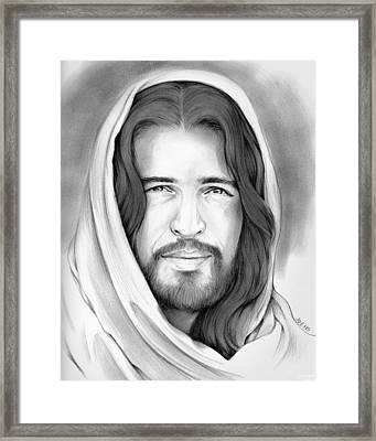 Son Of Man Framed Print by Greg Joens
