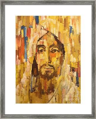 Son Of Man Framed Print by Lutz Baar