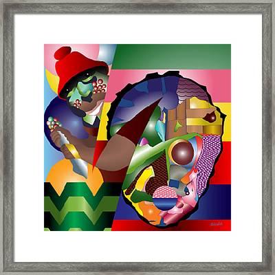 Son Of The Bakoda Framed Print