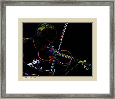Framed Print featuring the photograph Sonata by Pedro L Gili