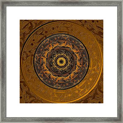 Song Of Heaven Mandala Framed Print