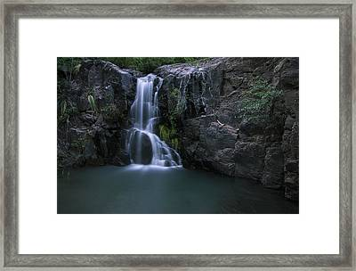 Song Of Hiawatha Framed Print by Aaron Bedell
