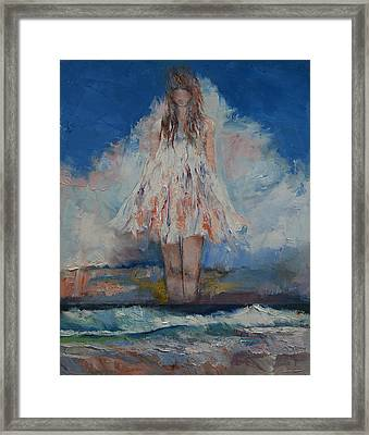 Song Of September Framed Print by Michael Creese