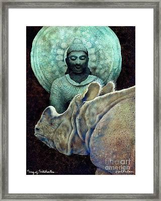 Song Of Siddhartha... Framed Print by Will Bullas