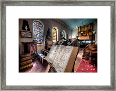 Song Of Solomon Framed Print by Adrian Evans